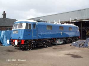 83012 / E3035 at Barrow Hill