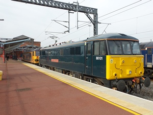 86101 on a driver training trip at Rugby