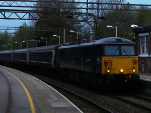 87002 on an early morning diversion via Kidgsrove